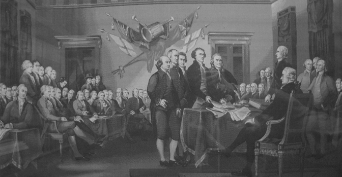 "<span itemprop=""name"">Signing of the Declaration...</span>"