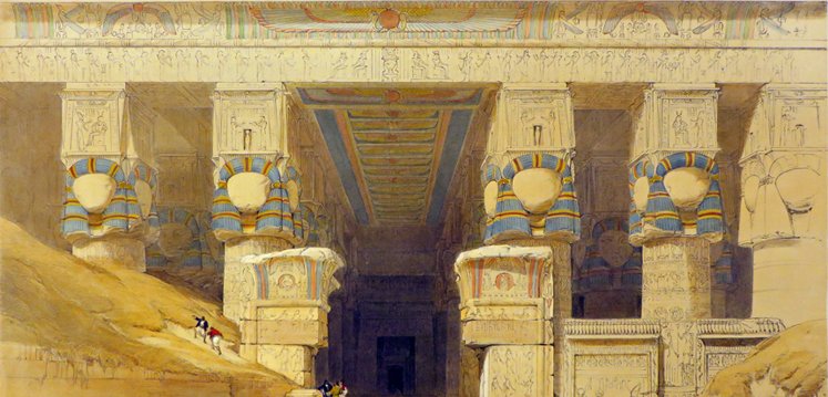 "<span itemprop=""name"">DENDERA [View of the...</span>"