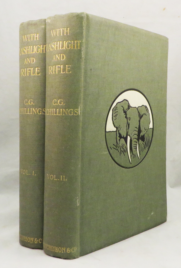 WITH FLASHLIGHT AND RIFLE: A Record of Hunting Adventures and of Studies in Wild Life in Equatorial East Africa; Translated by Frederic Whyte. C. G. Schillings.