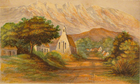 THREE MONTHS' VISITATION, BY THE BISHOP OF CAPETOWN, IN THE AUTUMN OF 1855: With and Account of His Voyage to the Island of Tristan D'Acunha, in March, 1856. With Original Sketches by Mrs. Gray, printed in colours. Robert Gray, Bishop of Cape Town.