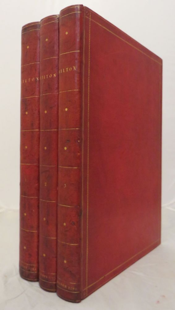 POETICAL WORKS OF JOHN MILTON. With A Life of the Author, by William Hayley. John Milton.