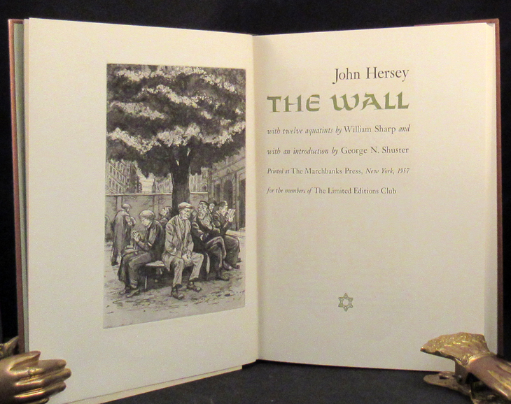 WALL. John Hersey, Limited Editions Club.