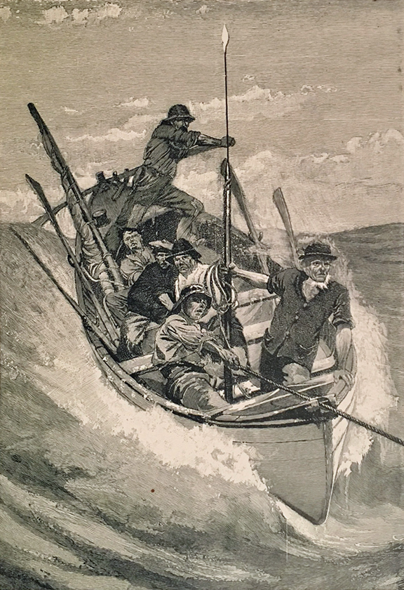 CRUISE OF THE CACHALOT, Round the World After Sperm Whales. Ships Whaling, Sea, Frank T. Bullen.