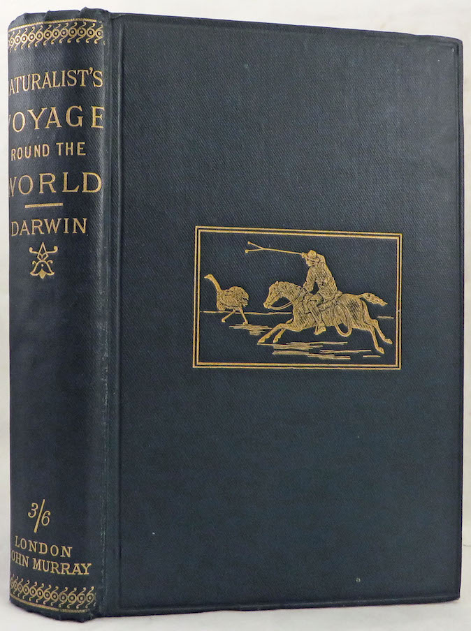 NATURALIST'S VOYAGE. Journal of Researches into the Natural History and Geology of the Countries Visited During the Voyage of H.M.S. Beagle Round the World. Charles Darwin.