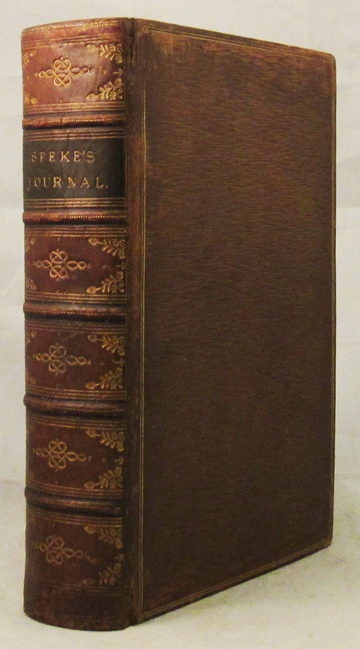 JOURNAL OF THE DISCOVERY OF THE SOURCE OF THE NILE. Capt. John Hanning Speke.