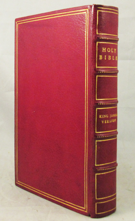 HOLY BIBLE Containing the Old and New Testaments. Translated Out of the Original Tongues and with the Former Translations Diligently Compared and Revised, by His Majesty's Special Command. Appointed to be Read in Churches. King James Bible, English Bible.