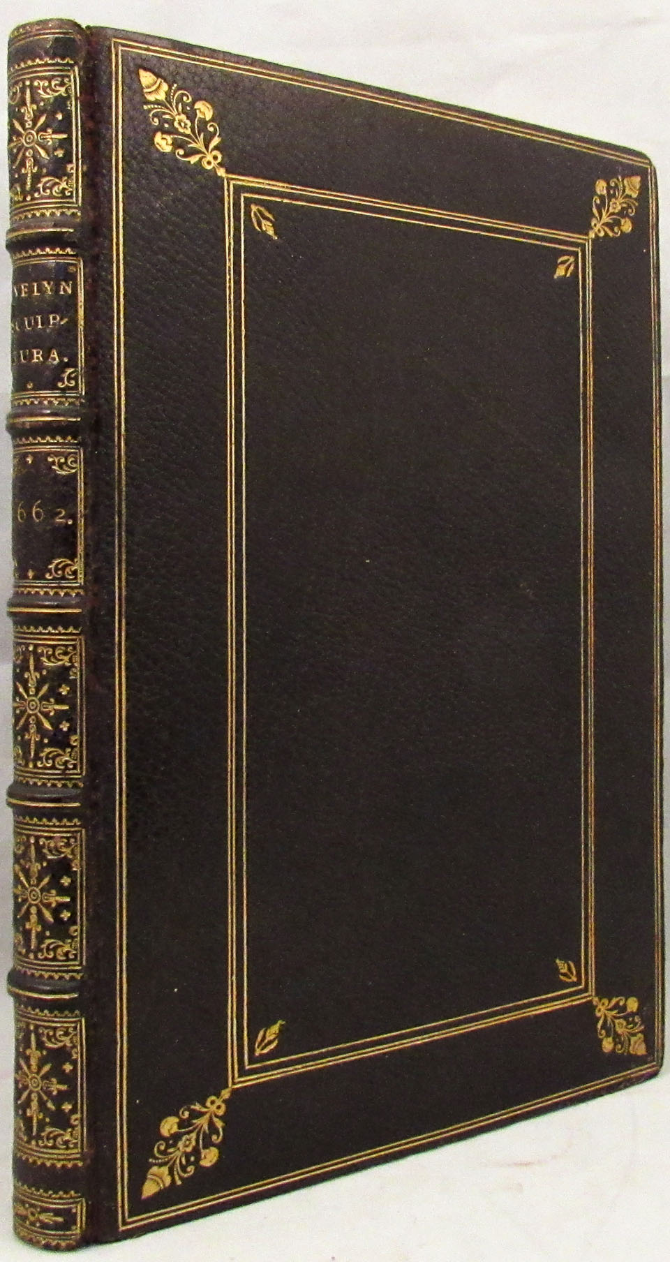 SCULPTURA: Or the History, and Art of Chalcography and Engraving in Copper. To Which Is Annexed a New Manner of Engraving, or Mezzo Tinto, Communicated by His Highness Prince Rupert to the Author of This Treatise. John Evelyn.