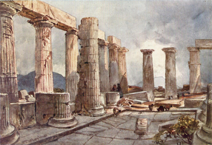 GREECE, Painted by John Fulleylove R.I., Described by the Rev. J. A. McClymont, M.A., D.D. J. Illust Fulleylove, Edward Thomas, J. A. McClymont.
