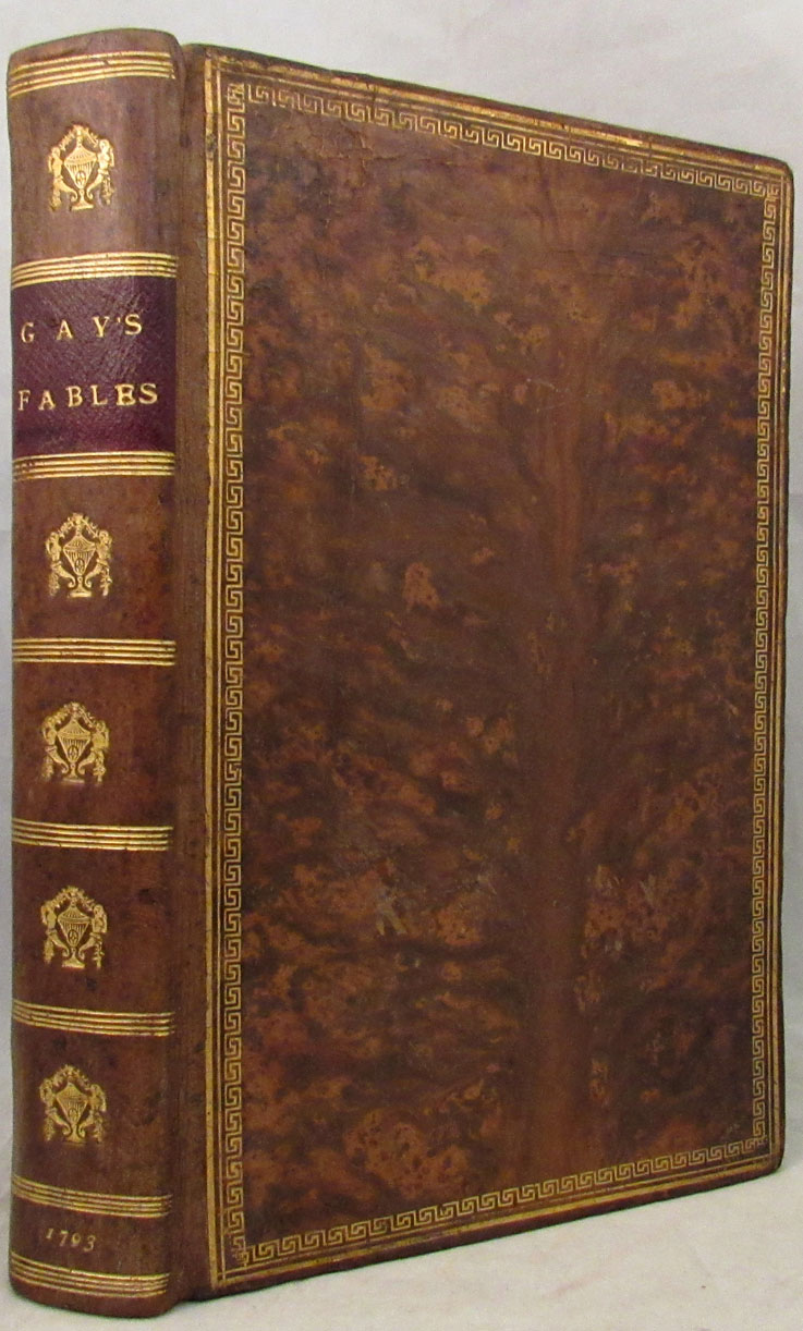 FABLES BY JOHN GAY; With a Life of the Author and Embellished with a Plate to Each Fable. [With a Life of John Gay by Samuel Johnson as derived from his Lives of the Poets]. John Gay.