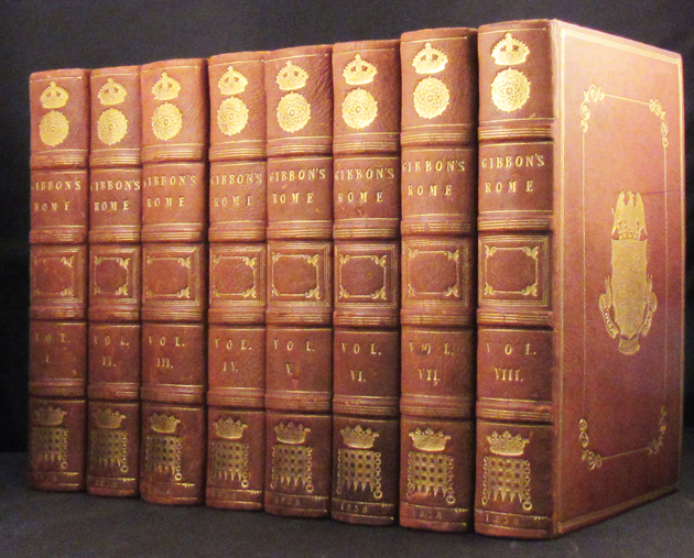HISTORY OF THE DECLINE AND FALL OF THE ROMAN EMPIRE. Edward Gibbon.