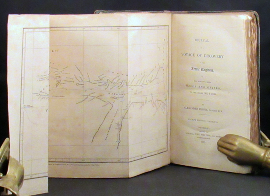 JOURNAL OF DISCOVERY TO THE ARCTIC REGIONS, in His Majesty's Ships Hecla and Griper, in the Years 1819 & 1820. Arctic, Alexander Fisher.