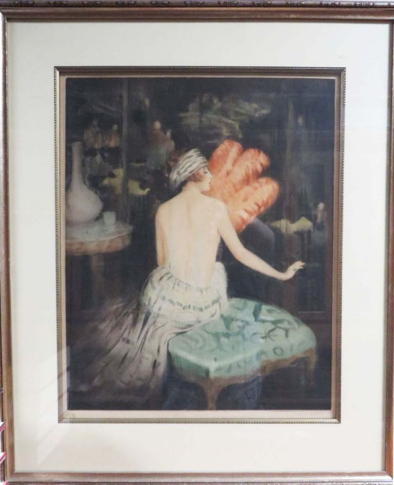 ORIGINAL HAND-SIGNED ENGRAVING IN. William Ablett, Artist
