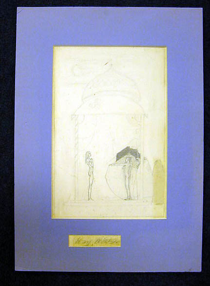 ORIGINAL SKETCH, A DRAWING. Kay Nielsen.