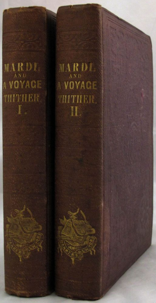 MARDI and a Voyage. Herman Melville