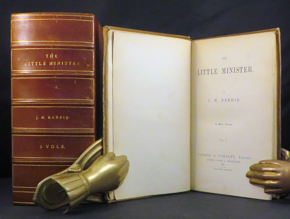 LITTLE MINISTER. J. M. Barrie