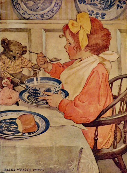 SEVEN AGES OF CHILDHOOD. Jessie Willcox Smith, Carolyn Wells