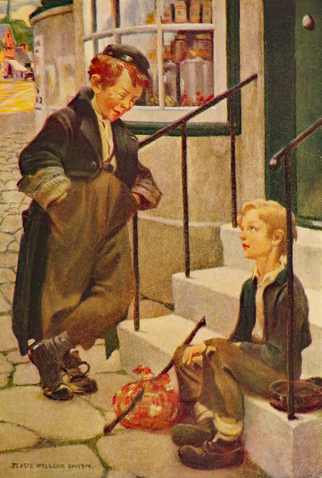 CHILDREN OF DICKENS. Jessie Willcox Smith, Samuel McChord Crothers