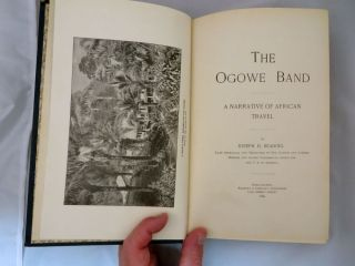 OGOWE BAND. A Narrative of African Travel.