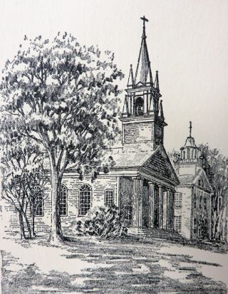 OLD NEW ENGLAND CHURCHES.