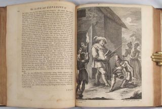 LIFE AND EXPLOITS OF DON QUIXOTE DE LA MANCHA. Translated from the original Spanish of Miguel de Cervantes Saavedra by Charles Jarvis, Esq. Now Carefully Revised and Corrected. To which is prefixed A Life of the Author.