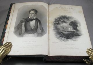 POETICAL WORKS OF LORD BYRON. Collected and Arranged, With Notes and Illustrations [with,] Moore, Thomas, editor. THE LIFE, LETTERS AND JOURNALS OF LORD BYRON. Collected and Arranged with Notes by Sir Walter Scott, Lord Jeffery, [et al].
