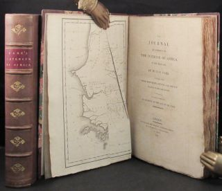 TRAVELS IN THE INTERIOR DISTRICTS OF AFRICA: Performed Under The Direction And Patronage Of The African Association, in the Years 1795, 1796, and 1797. With An Appendix, Containing Geographical Illustrations of Africa. By Major Rennell [with,] JOURNAL OF A MISSION TO THE INTERIOR OF AFRICA, IN THE YEAR 1805..TOGETHER WITH OTHER DOCUMENTS, OFFICIAL AND PRIVATE, RELATING TO THE SAME MISSION, TO WHICH IS PREFIXED AN ACCOUNT OF THE LIFE OF MR. PARK.