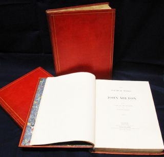 POETICAL WORKS OF JOHN MILTON. With A Life of the Author, by William Hayley