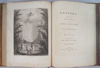 FABLES OF JOHN DRYDEN [Bound with] LEONORA Translated from the German of Gottfried Augustus Bürger by W. R. Spencer