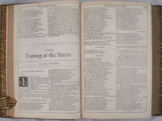 COMEDIES, HISTORIES, AND TRAGEDIES Published according to the true Original Copies. Unto which is added, Seven Plays, Never before Printed in Folio...