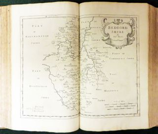 CAMDEN'S BRITANNIA, Newly Translated into English; With Large Additions and Improvements.