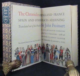 CHRONICLES OF ENGLAND, FRANCE, SPAIN AND OTHER PLACES ADJOINING.