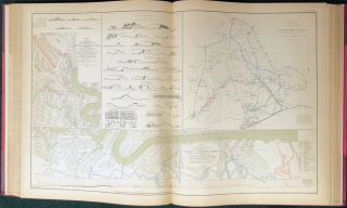 ATLAS TO ACCOMPANY THE OFFICIAL RECORDS OF THE UNION AND CONFEDERATE ARMIES. Published Under the Direction of the Hons. Redfield Proctor, Stephen B. Elkins, and Daniel S. Lamont, Secretaries of War