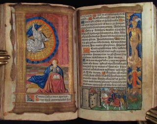 BOOK OF HOURS, Latin and French, Use of Rome