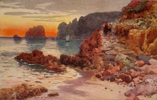CHANNEL ISLANDS. Painted by Henry B. Wimbush. Described by Edith F. Carey