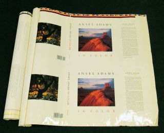 ANSEL ADAMS IN COLOR. Edited by Harry M. Callahan With John P. Sceaefer and Andrea G. Stillman Introduction by James L. Enyeart Selected Writings on Color Photography by Ansel Adams