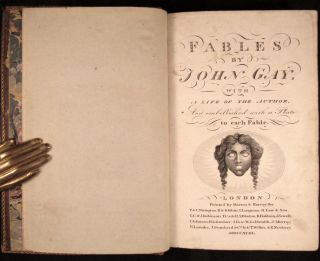 FABLES BY JOHN GAY; With a Life of the Author and Embellished with a Plate to Each Fable. [With a Life of John Gay by Samuel Johnson as derived from his Lives of the Poets]
